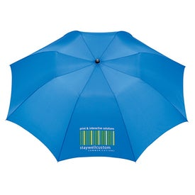 Slim Stick Auto Folding Umbrella with Your Logo