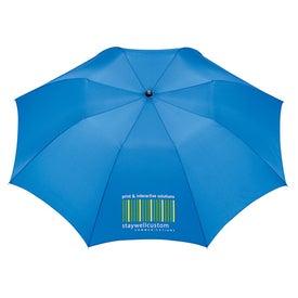 Slim Stick Auto Folding Umbrella with Your Logo