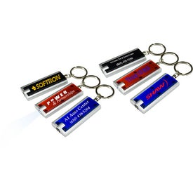 Slim Line LED Key Light with Your Slogan