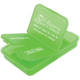 Promotional Slotted Pill Box