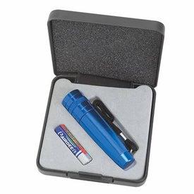 Small Aluminum Flashlight With Strap