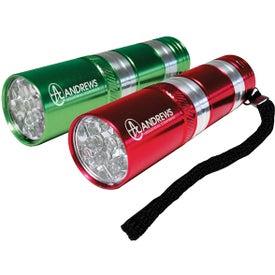 Monogrammed Small Aluminum LED Light