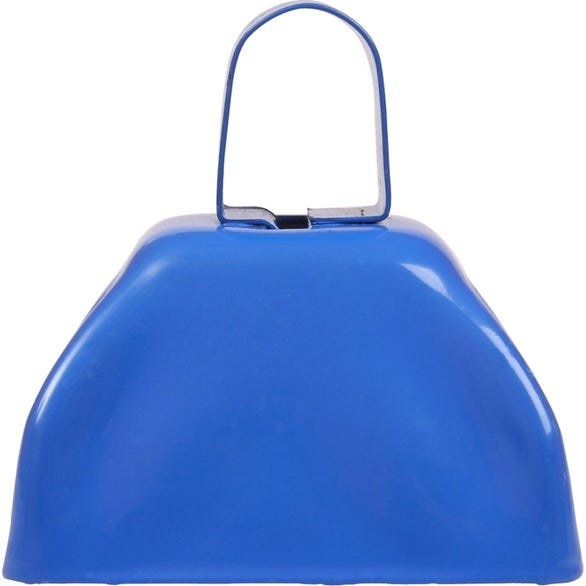 Blue Small Basic Cow Bell