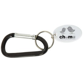 Small Carabiner Keytag for Your Organization