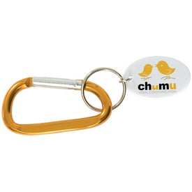 Small Carabiner Keytag for Your Church