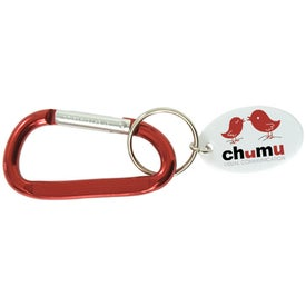 Customized Small Carabiner Keytag