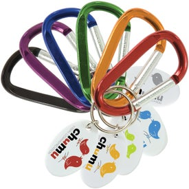 Small Carabiner Keytags