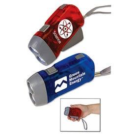 Small Hand Powered Flashlight