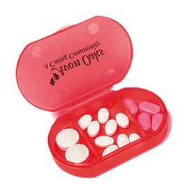 Imprinted Small Pill Box