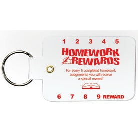 Small Punchable Key Chain with Your Logo