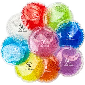Small Round Gel Beads Hot or Cold Pack