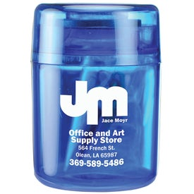 Promotional Small Round Paper Clip Dispenser