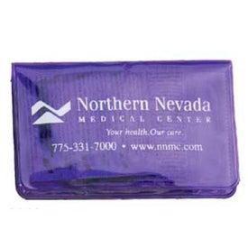 Small Vinyl Case with 2 Condom