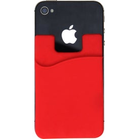 Personalized Smart Phone Silicone Wallet