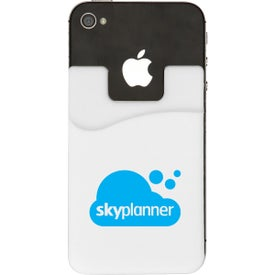 Logo Smart Phone Silicone Wallet