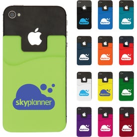 Smart Phone Silicone Wallet with Your Logo