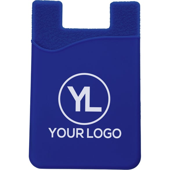 Blue SmartPocket Cell Phone Card Holder For Any Mobile Device