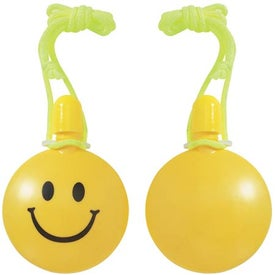 Smiley Face Bubble Tote Branded with Your Logo