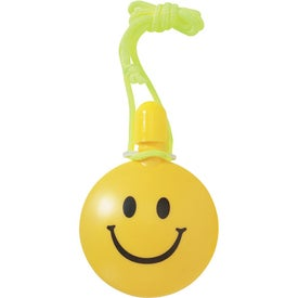 Advertising Smiley Face Bubble Tote