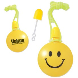 Smiley Face Bubble Tote