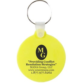 Promotional Smiley Key Chain
