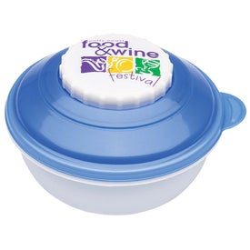 Snack and Dip Container