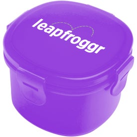Snack-In Container Imprinted with Your Logo