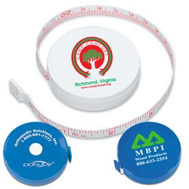 Snap-A-Matic Tape Measure with Your Logo