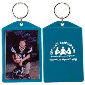 Snap-In Keytag Printed with Your Logo