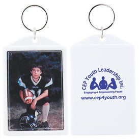 Advertising Snap-In Keytag