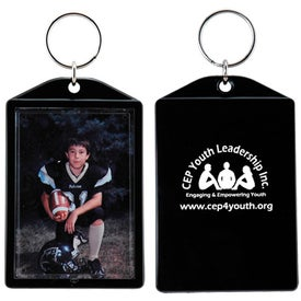 Snap-In Keytag for Advertising