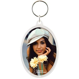 Snap-In Oval Keytag