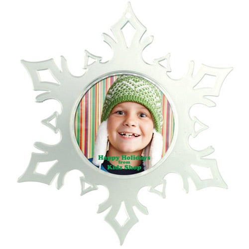 Photo Snap In Snowflake