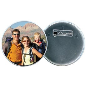 Snap-In Pinback Button