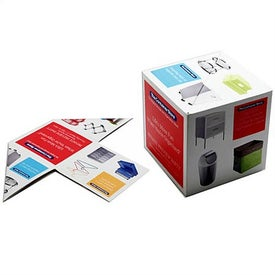 """Personalized 3"""" x 3"""" x 3"""" Snap-It Cube"""