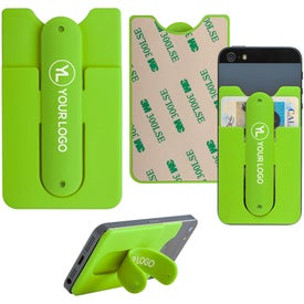 Snap It Up Mobile Wallet and Phone Stand