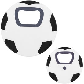 Soccer Ball Bottle Opener for your School