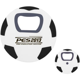 Soccer Ball Bottle Opener with Your Logo