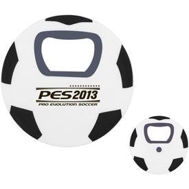 Soccer Ball Bottle Opener with Your Logo