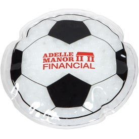 Soccer Ball Hot and Cold Pack
