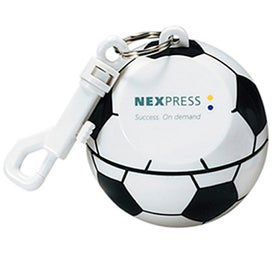 Soccer Ball with Hook Clip and Poncho