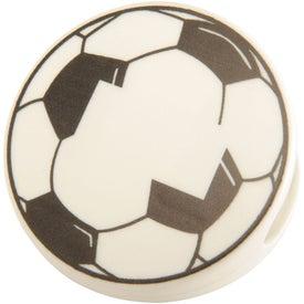 Monogrammed Soccer Keep-It Clip