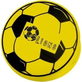 Soccer Keep-It Clip Printed with Your Logo