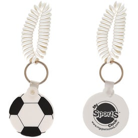 Soccer Key Fob with Coil