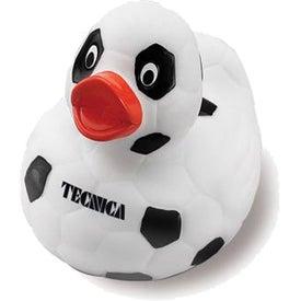 Soccer Rubber Duck