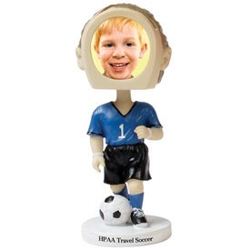 Soccer Single Bobble Head