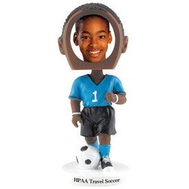 Soccer Single Bobble Heads