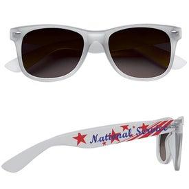 Imprinted Soft Feel Sunglasses