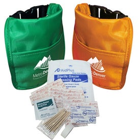 Soft First Aid Kit with Your Slogan