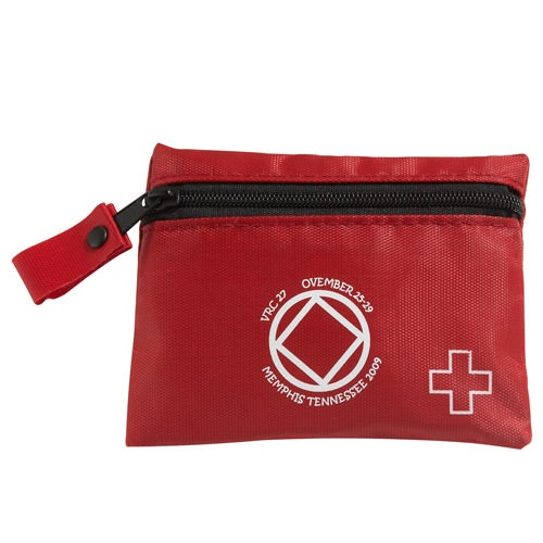 Red Soft Side First Aid Kit